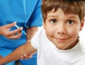 Прививка мальчику