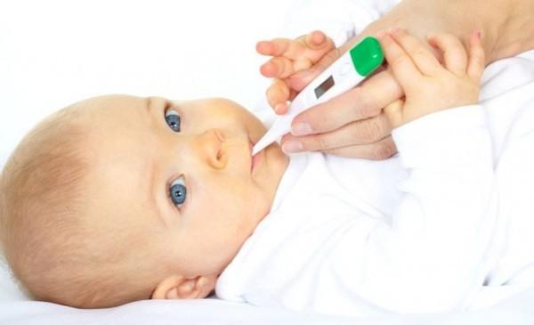 температура после капель от полиомиелита