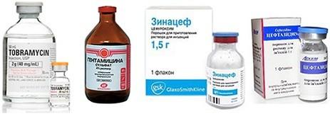Антибиотики в уколах
