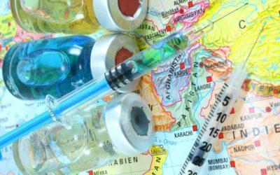 Прививки в путешествия