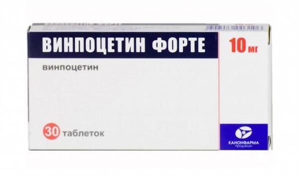 Капельница винпоцетином