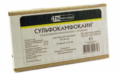 сульфокамфокаин инструкция по применению уколы