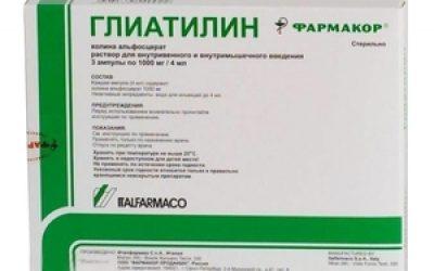 Глиатилин (уколы)